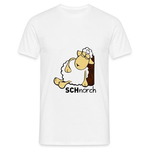 Schaf Schlaf Lustig - Männer T-Shirt