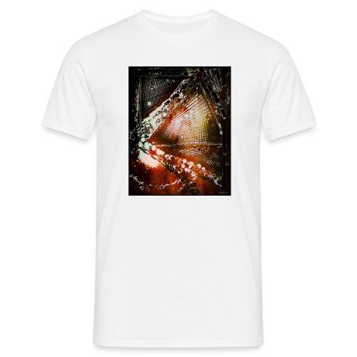 Verfangen in Struktur - Männer T-Shirt
