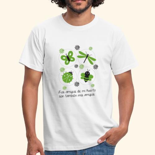 Amigos del huerto y el jardín - Camiseta hombre