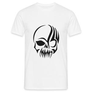 tribals skull - Männer T-Shirt
