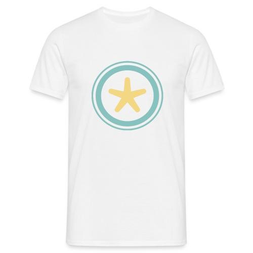 El mundo a través de un visor - Camiseta hombre