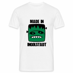 Fonster made in Ingolstadt - Männer T-Shirt