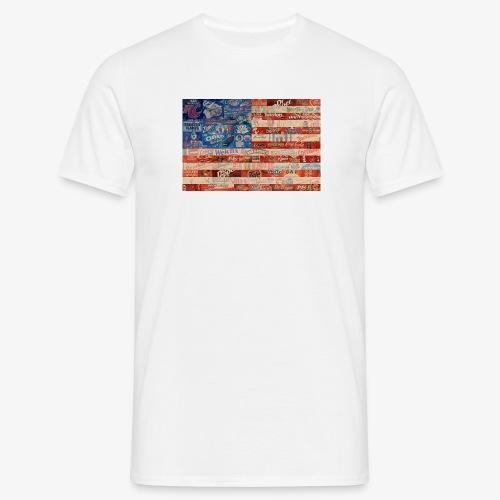 America flag - Men's T-Shirt