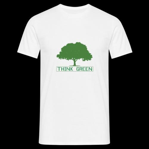 think green - Camiseta hombre