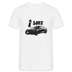 Tesla Model S - Mannen T-shirt