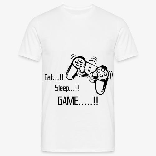 eat sleep game joy pad - Men's T-Shirt