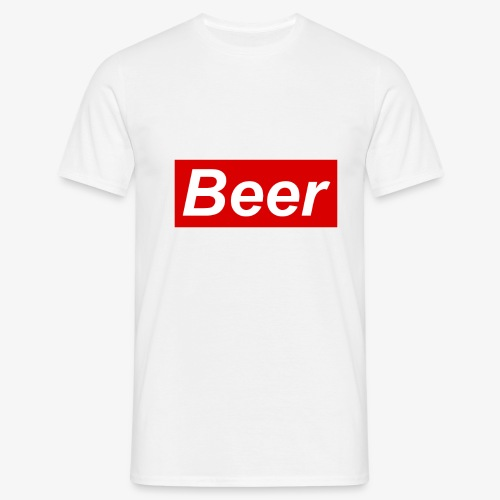 Beer. Red limited edition - Mannen T-shirt