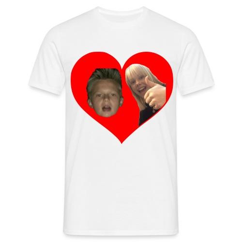 Sebber in love - Herre-T-shirt