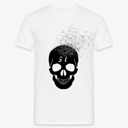 Skull esplosione - Maglietta da uomo