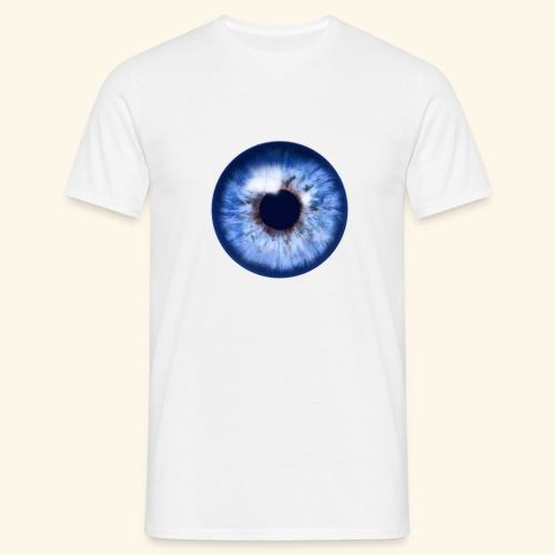 blue eye - Männer T-Shirt
