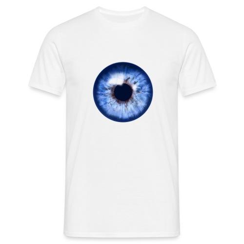 blue eye - Männer T-Shirt