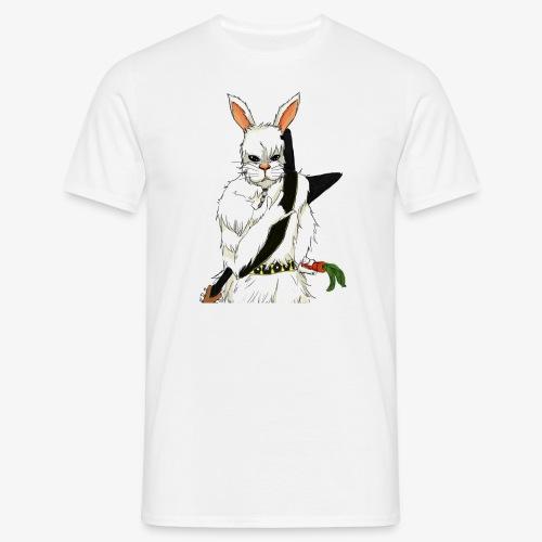 The white Rabbit - T-skjorte for menn