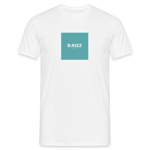 Brizzclothing green white tee - Men's T-Shirt