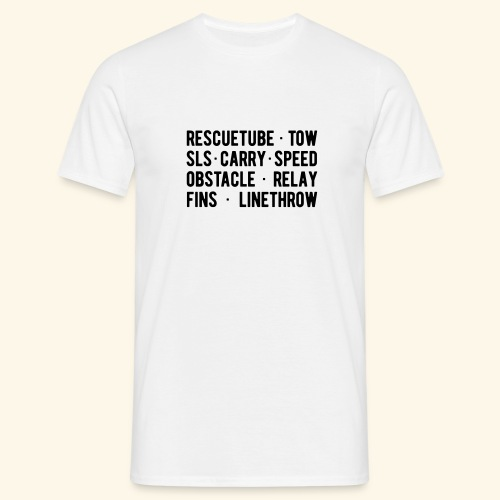 Tee shirt RESCUE ... THROW - T-shirt Homme