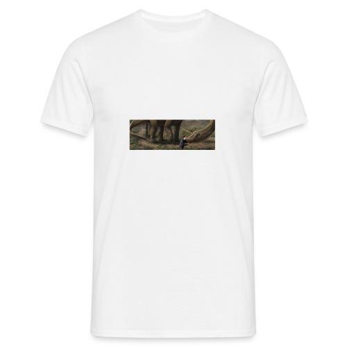 Dinosauriemuggen - Björn älskar dinosaurier! - T-shirt herr
