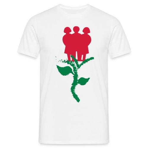 INSZENARIO® Rose - Männer T-Shirt
