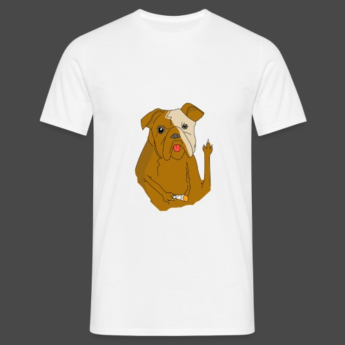 Smokey the Dog - Men's T-Shirt