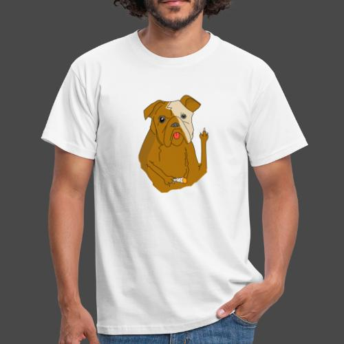 Smokey the Dog - Men's T-Shirt