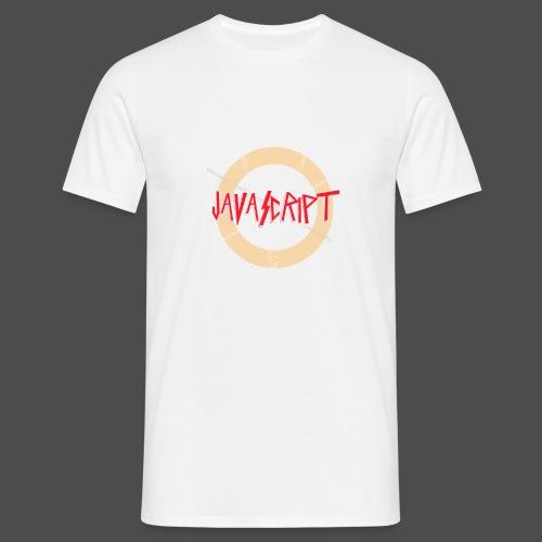 Javascript metal t-shirt - Mannen T-shirt