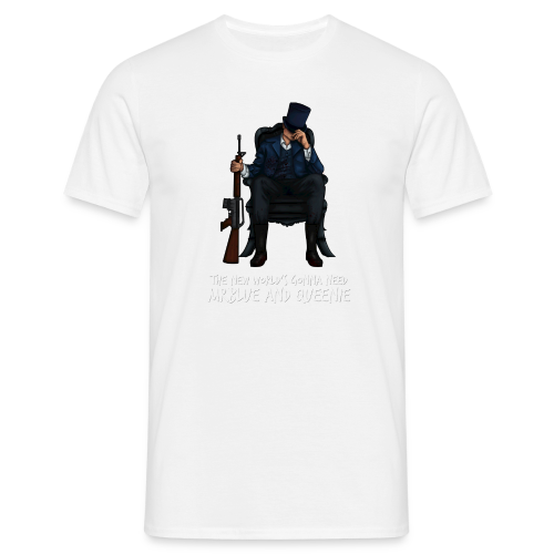 MrBlue's New World - Men's T-Shirt