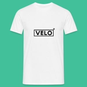 Velo Icon Blk - Long Sleeve Baseball Shirt W/N Clr - Men's T-Shirt