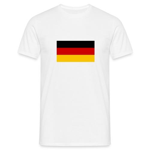 deutscheflagge001 1366x768 - Männer T-Shirt