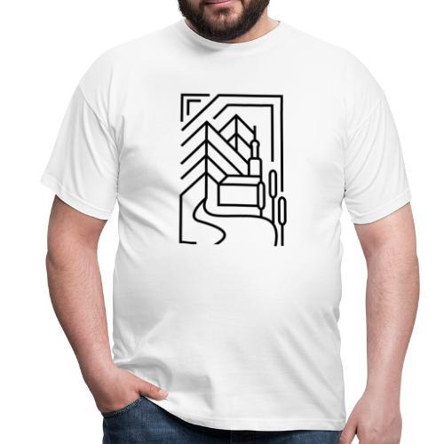 Heimatstadt - Männer T-Shirt