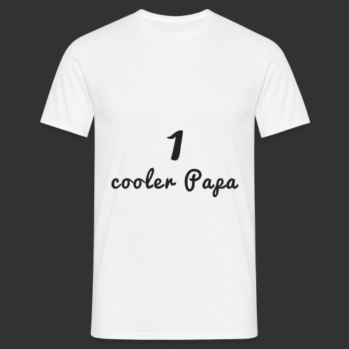 1 cooler papa - Männer T-Shirt