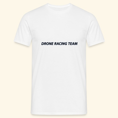 drone racing team - Camiseta hombre