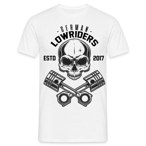 LOWRIDERS SKULL - Männer T-Shirt