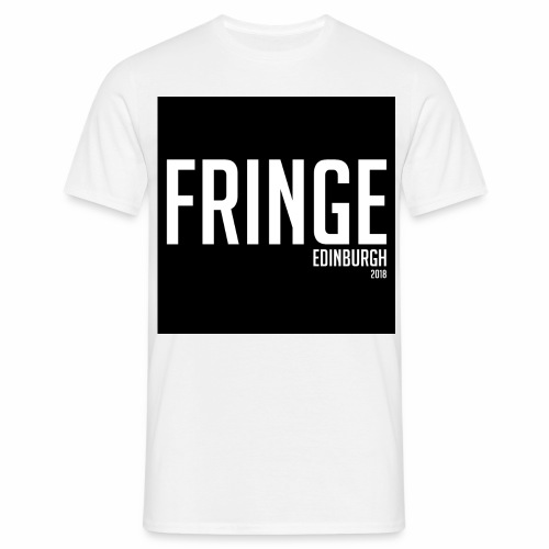 Fringe 2018 Black on White - Men's T-Shirt
