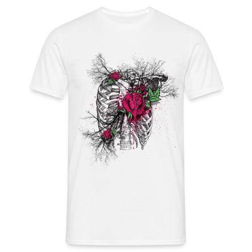 Rose Chest - Männer T-Shirt