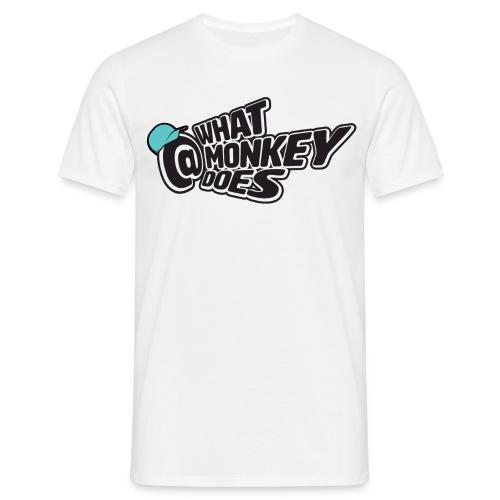 What Monkey Does Instagram Logo - Men's T-Shirt