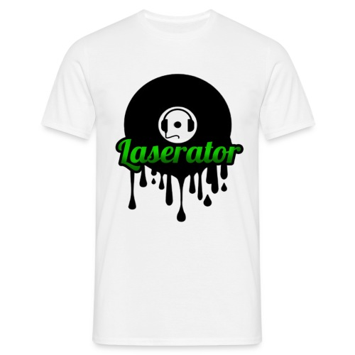 Laserator Logo - Männer T-Shirt