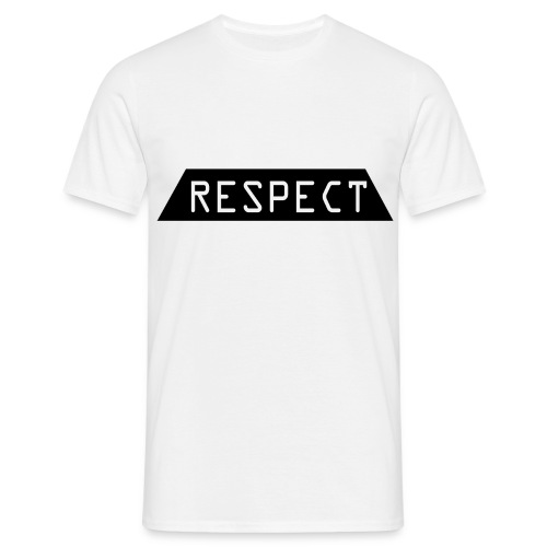 Respect - T-skjorte for menn