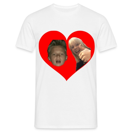 Sebber in love - Herre-T-shirt