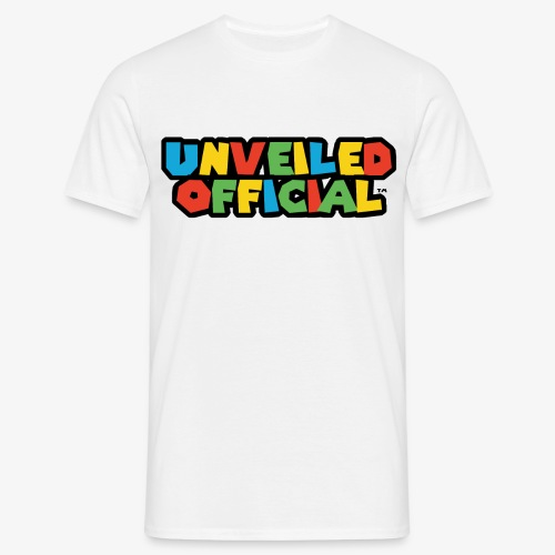 Unveiled Video Games Logo - Men's T-Shirt