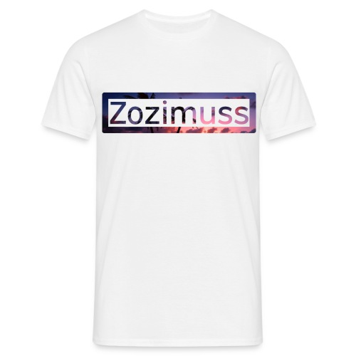 Zozimuss sunset. - Men's T-Shirt