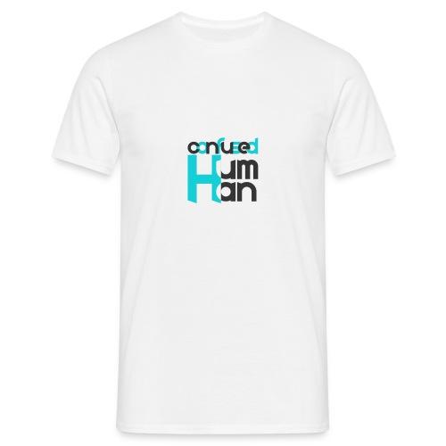 Confused Human - Männer T-Shirt