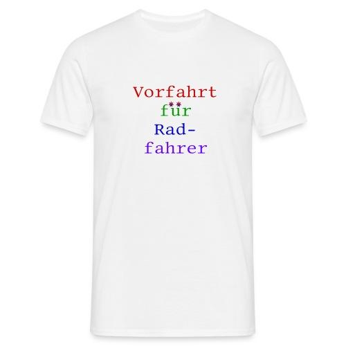 radfahrer - Männer T-Shirt