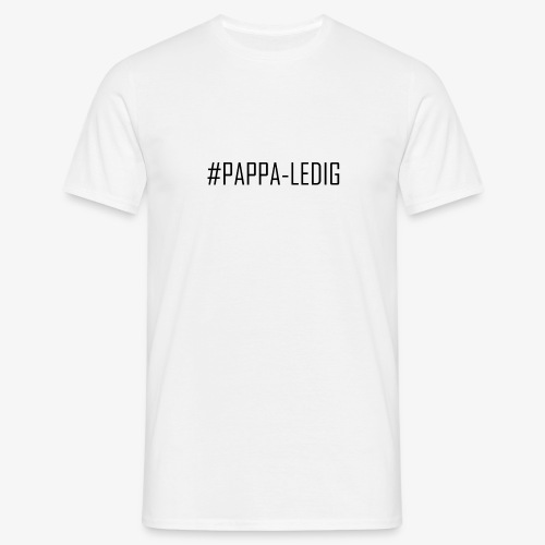 pappaledig - T-shirt herr