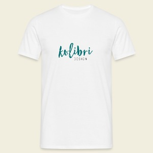 Logo Kolibri Design - Männer T-Shirt