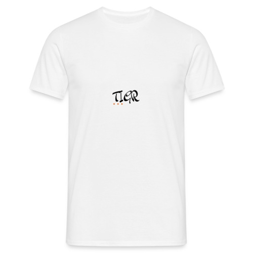 TIGR WORD LOGO - Men's T-Shirt