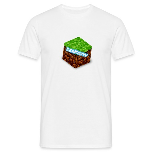 DerKevvv (Gras Block) - Männer T-Shirt