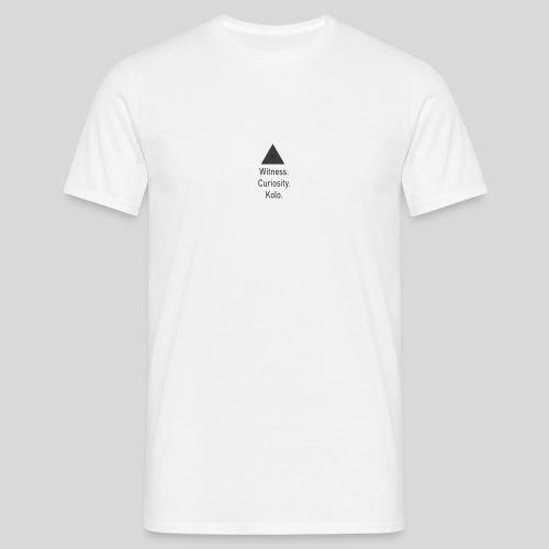 Curiosity - T-skjorte for menn