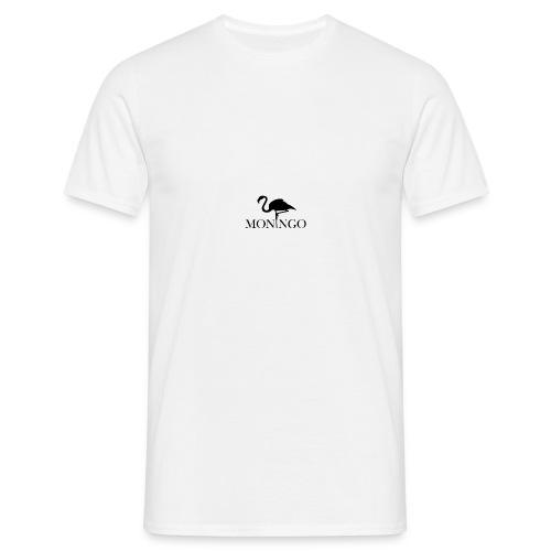 Moningo Flamingo - T-skjorte for menn
