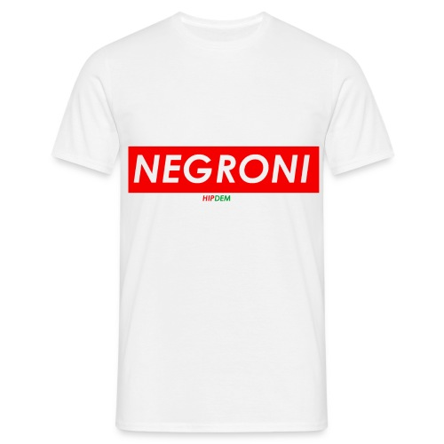 NEGRONIQUATER - Maglietta da uomo