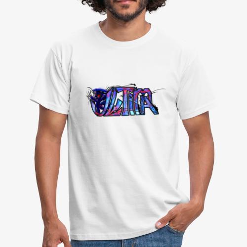 ultima logo t shirt design by toxic sparkle d5rx9e - Miesten t-paita