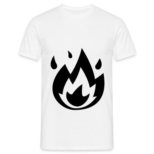 ikigaifirelogo - Maglietta da uomo