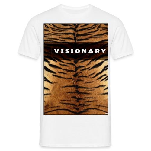 PRTCTANIMAL - Tiger | Im visionary - Men's T-Shirt